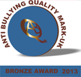 Anti Bullying Quality Mark - bronze