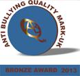 Anti Bullying Quality Mark - bronze