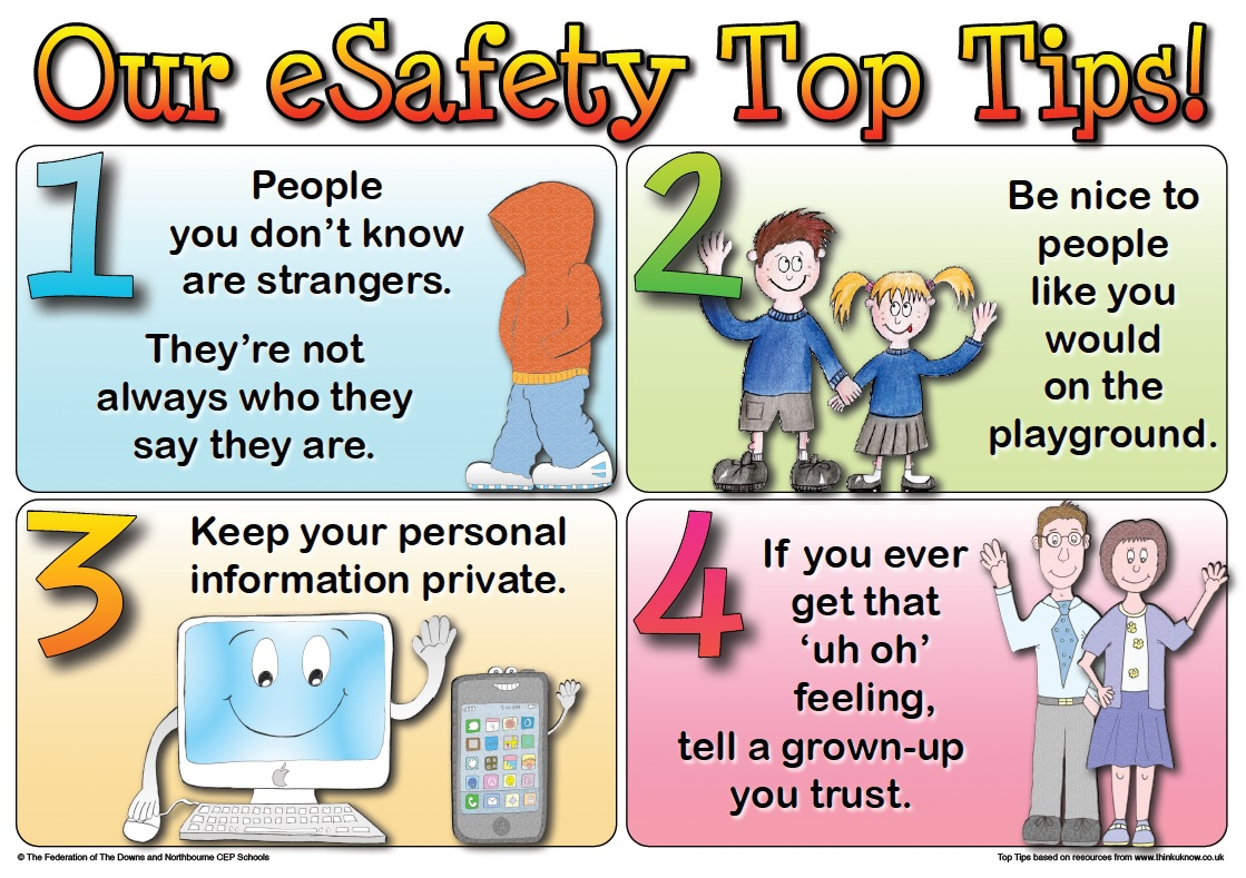 How To Be Safe Online For Kids